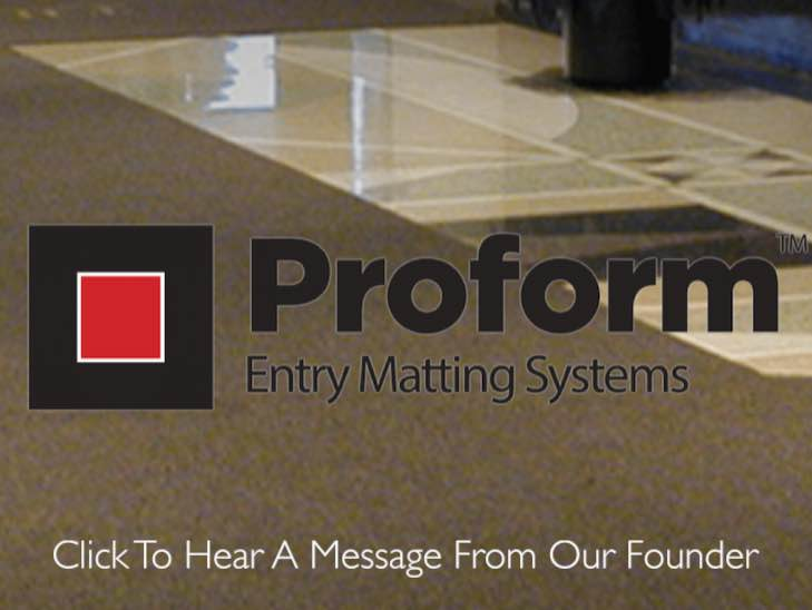 Proform Message From Our Founder